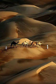 Me gusta la soledad del desierto