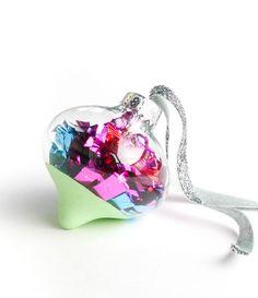 diy color dipped ornaments