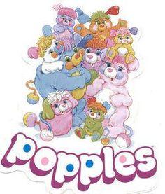 Popples!! I still love them. I still have my popples too.