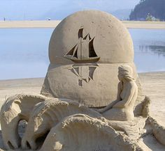 The first ever professional sand sculpting competition in Arizona December 13 2015 Snow Sculptures, Sand Sculpture, Ice Art, Snow And Ice, Sand Art, World Championship, Sculpting, Cool Art, December 12