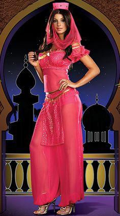 Genie Arabian Costume—Reminds me of I Dream of Jeannie :)