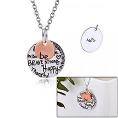 """Beautiful silver alloy and enamel Me!!!!! """"Me"""" pendant with all the sayings that describe Me (you).  Made of a silver alloy not to tarnish and finished with a beautiful enamel. Jewelry Necklaces"""