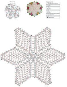 Diy Crafts - Crochet for Bathrooms Free Pattern Filet Crochet, Crochet Motif, Crochet Doilies, Hand Crochet, Crochet Stitches, Blanket Crochet, Diy Crafts Crochet, Crochet Home, Crochet Projects