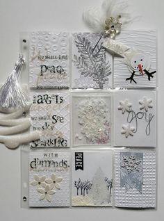 White Christmas Pocket Letter