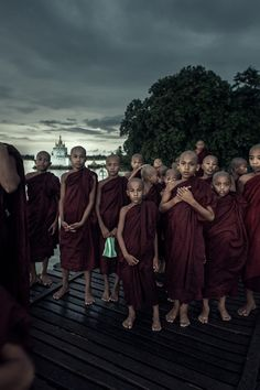 Myanmar (Burma) - monks, novices