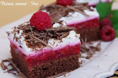 Koláče Archives - Page 7 of 25 - Báječné recepty Perfect Cheesecake Recipe, Cheesecake Recipes, Dessert Cake Recipes, Sweet Desserts, Mint Chocolate Chips, Pavlova, Food And Drink, Sweets, Eat