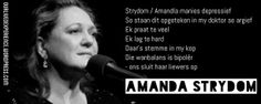 Afrikaans quote, Amanda Strydom
