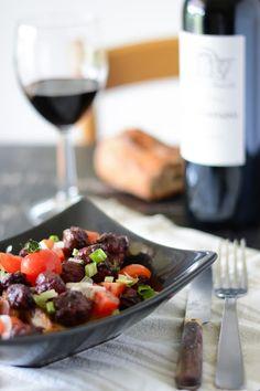 Chic, chic, chocolat...: Salade tiède d'encornet et pommes de terre primeur