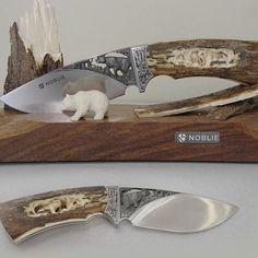 "Engraved knife ""Bear"" #knivesdaily #knife #knivesofig #mengift #steel #mammothtusk #engraving #carving #mammoth #luxknife #luxuryknives #luxurygifts #artknives #customknifecollector #handmadeknife #customknife"