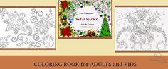 NATAL MÁGICO - LIVRO DE COLORIR (Desenho),  25x30 cm por ROSE CANAZZARO Livro de colorir - NATAL MÁGICO, Rose Canazzaro O livro NATAL MÁGICO tem 73 desenhos para colorir, todos os dias, a data mais aguardada do ano : O NATAL.  Mandalas, árvores decoradas, estrelas, presépio, renas, sinos, guirlandas, bonecos de neve, papai noel e muito mais.   O papel do livro NATAL MÁGICO foi escolhida cuidadosamente por uma equipe especializada, para poder ter uma melhor aderência do lápis ao colorir, a…