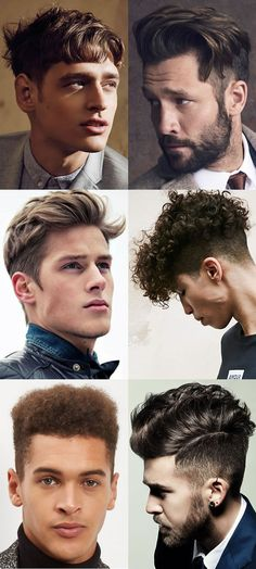 Men's Hairstyles Trends for 2017 - Short Back and Sides with longer textured hair On Top