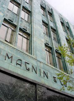 I. Magnin Store.  San Francisco, California.