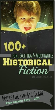 123 Homeschool 4 Me:Historical Fiction - Over 100 books for Kids Arranged by Date Historical Fiction Books For Kids, Historical Fun, 6th Grade Social Studies, Homeschool Books, Homeschooling Resources, Kids Reading, Reading Lists, Teaching Reading, Guided Reading