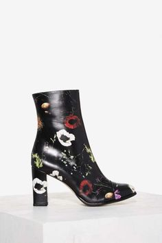 18154a818 The Graffiti Boot by Matisse comes in black and features a multicolor