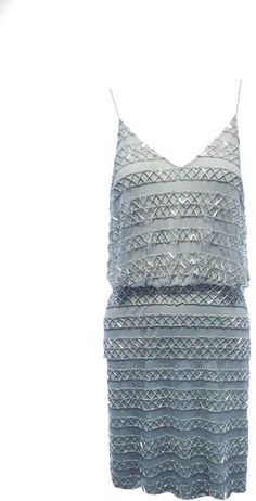 78e0651e45d Spaghetti Strap Blouson Short Dress - Lyst Adrianna Papell, Spaghetti,  Crochet Top, Short