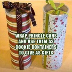 Cute idea and handy for presents or storage