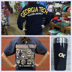 Georgia Tech Game Day Apparel and accessories available at www.shopmemento.com! #GATech