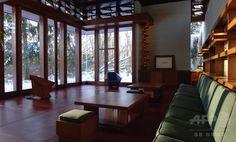 移築された米建築家ライト設計の邸宅、11月から一般公開へ  国際ニュース:AFPBB News