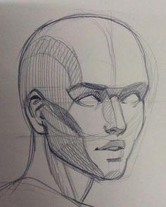 Comment apprendre dessiner un portrait au crayon ? Easy Drawing Tutorial, Drawing Tutorials, Drawing Techniques, Portrait Au Crayon, Pencil Portrait, Teaching Drawing, Learn Drawing, Drawing People Faces, Sketches Of People
