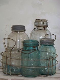 vintage home canning display   ****