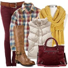Cranberry Sauce and Mustard, created by stylesbyjoey on Polyvore
