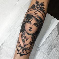#art #gzn #tattoo #traditionaltattoo #sailortattoo #inked #ink