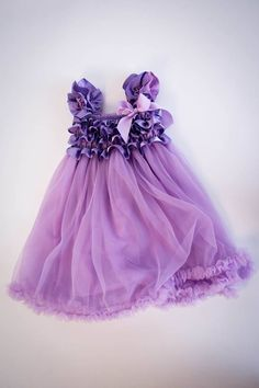 Purple Tutu Dress w/ matching headband  by LilDivaBowtique1, $25.99