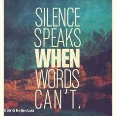 Silence speaks when words can't...   Beyond speechless to learn of the tragedy that took the life of the incredible man, Paul Walker, and th...