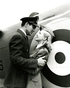 Tyrone Power and Betty Grable, 1941.