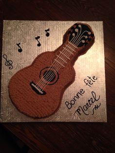 Gâteau de guitare
