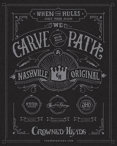 Crowned Heads Cigars-Poster by Stephen Jones, via Behance