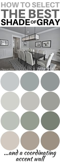 are the most popular shades of gray paint How to choose the best shade of gray paint and a coordinating accent wall. Most popular shades of gray. How to choose the best shade of gray paint and a coordinating accent wall. Most popular shades of gray. Valspar Paint Colors, Bedroom Paint Colors, Interior Paint Colors, Paint Colors For Home, Living Room Colors, House Colors, Shades Of Grey Paint, Light Grey Paint Colors, Neutral Paint