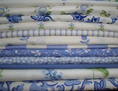 Laura Ashley Vintage Fabrics - blue and white