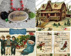Memories of Christmas Past by Lori on Etsy--Pinned with TreasuryPin.com
