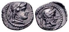 AR Obol. Greek, Cilicia, Satraps, Datames, Tarsos. 378-372 BC. 10mm, 0,68g, 1h. SNG FRance 278-81. Good EF. Price realized (2.7.2016): 143 EUR.