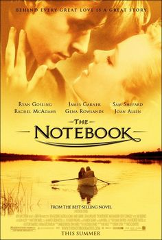 The Notebook Movie Poster - Internet Movie Poster Awards Gallery