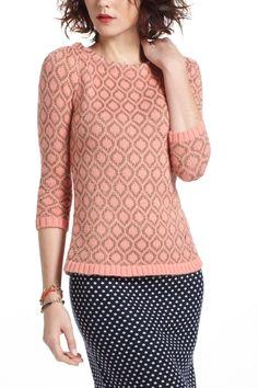 Gilt Diamond Sweater - Anthropologie.com