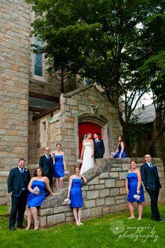 #summerwedding #weddingparty <3 Maggie J Photography