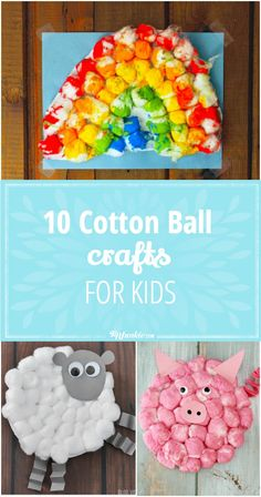 10 Cotton Ball Craft