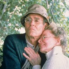 Played by: Katharine Hepburn and Henry Fonda,  Movie: On Golden Pond (1980).Perpetually bathed in sunlight, continually clad in soothing earth tones, and unendingly gentle, Ethel and Norman Thayer are what most cinematic grandparents just wish they could be.    Read more: www.grandparents....