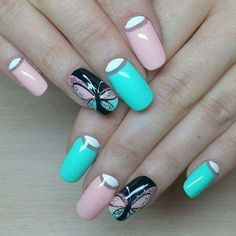 Love Is The Word Nails By Terry Valentinehearts Nails By