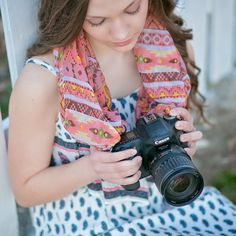 🎁📷🎁Doesn't your camera deserve something pretty too ❤️  📽️Watch our YouTube video at: https://youtu.be/KnWdENfHIks ✨www.thecamerascarf.com✨ 📸 Each of our Camera Scarfs can be worn at least 10 ways or separately as a scarf ❤️  #camerascarf