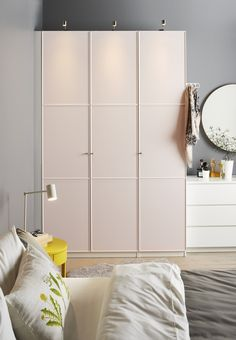Suave, como o conforto. #decoração #roupeiros #IKEAPortugal