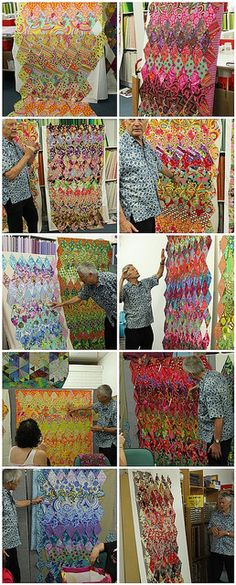 Kaffe Fassett workshop quilts | Flickr - Photo Sharing!