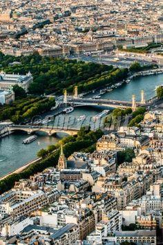 aerial view cityscape of Paris in france: Lizenzfreie Bilder und Fotos Aerial View, France, River, Paris, Outdoor, City Landscape, Tour Eiffel, Royalty Free Images, Outdoors
