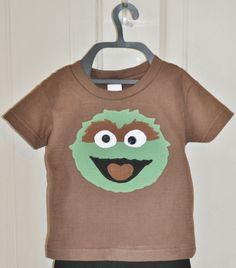 Boys Oscar the Grouch Shirt by Fit For A Prince.
