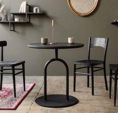 KAMERTON okrągły stół kawiarniany w stylu bauhaus polski design Mebloscenka Cafe Tables, Bauhaus, Loft, House, Furniture, Home Decor, Design, Coffee, Products