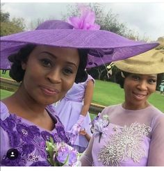 Purple Wedding, Wedding Colors, Vintage Style, Vintage Fashion, Elegant Lady, Church Hats, Fancy Hats, Wedding Hats, Kitenge