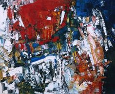 Tachisme ~ Jean-Paul Riopelle ~ Perspectives ~ 1956 ~ Olieverf op doek ~ 100 x cm. Tachisme, Abstract Art Images, Abstract Paintings, Sam Francis, Art Informel, Montreal Museums, Canadian Painters, Canadian Artists, Tate Gallery