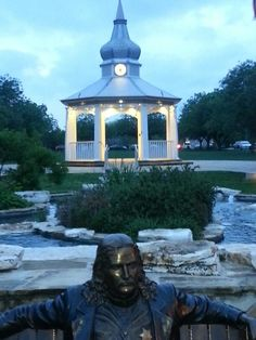 Boerne  Texas Town Square